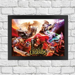 Poster League of Legends (Mod.4)