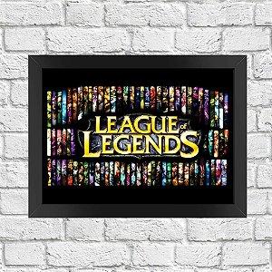 Poster League of Legends (Mod.5)