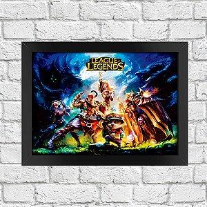 Poster League of Legends (Mod.7)