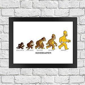 Poster Os Simpsons Evolução