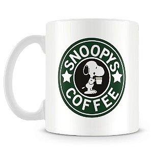 Caneca Personalizada Snoopy Coffee