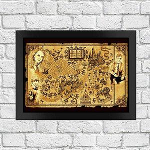 Poster Mapa de Hogwarts