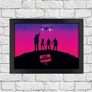 Poster Guardiões da Galáxia (Mod.7)