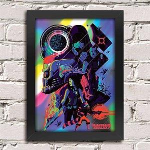Poster Guardiões da Galáxia (Mod.22)