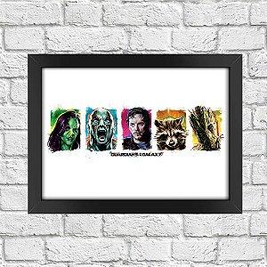 Poster Guardiões da Galáxia (Mod.34)