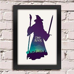 Poster Senhor dos Anéis Gandalf