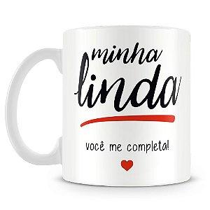 Caneca Personalizada Minha Linda