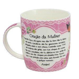Caneca de Porcelana Oração da Mulher