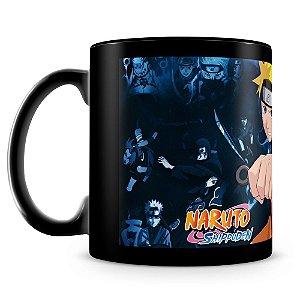 Caneca Personalizada Naruto Shippuden Mod.2 (100% Preta)