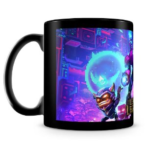Caneca Personalizada League of Legends (Mod.4) 100% Preta