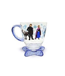 Xícara Acrílico Azul Frozen