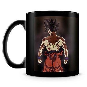 Caneca Personalizada Dragon Ball Super - Goku (100% Preta)