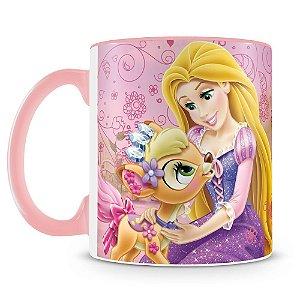 Caneca Personalizada Princesas & Pets (Rapunzel)