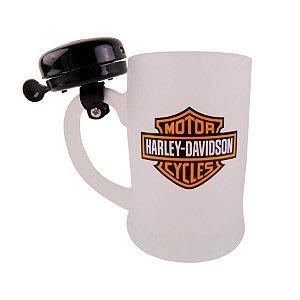 Caneco de Chop Campainha Harley Davidson