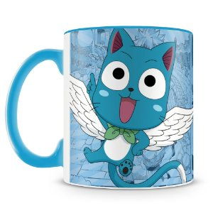 Caneca Personalizada Fairy Tail Happy
