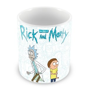 Caneca Personalizada Rick and Morty (Mod.1)
