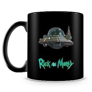 Caneca Personalizada Rick and Morty (100% Preta)