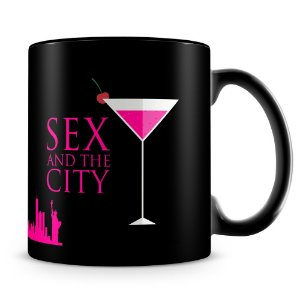 Caneca Personalizada Sex and the City (100% Preta)