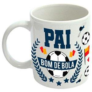 Caneca de Porcelana Pai Bom de Bola