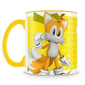 Caneca Personalizada Sonic (Tails)