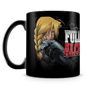 Caneca Personalizada Fullmetal Alchemist (100% Preta)