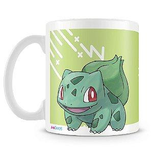 Caneca Plástica Personalizada Pokémon Bulbasaur