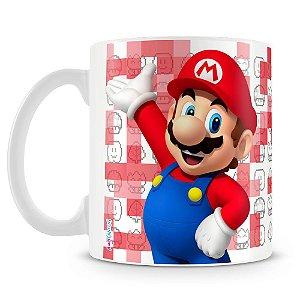 Caneca Plástica Personalizada Mario