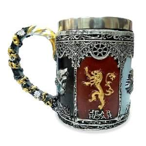Caneca Inox Game Of Thrones (Mod.1)