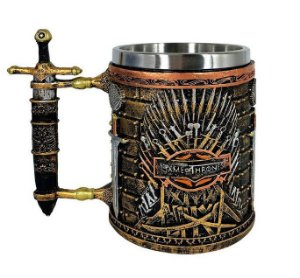 Caneca Inox Game Of Thrones (Mod.2)