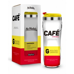 Copo Térmico Inox Remédio Café