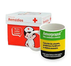 Caneca de Porcelana Remédio Amorprazol