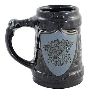 Caneca de Cerâmica Game of Thrones Escudo Stark