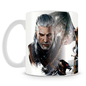 Caneca Personalizada The Witcher (Mod.1)