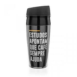 Copo para Viagem Café Sempre Ajuda