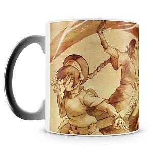 Caneca Mágica Personalizada Avatar a Lenda de Aang