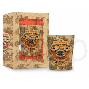 Caneca de Porcelana Motor Cycle