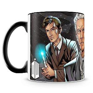 Caneca Personalizada Doctor Who Comics (Mod.1)