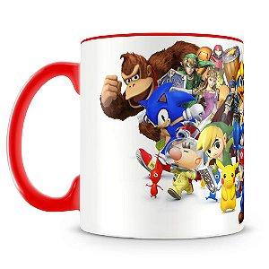 Caneca Personalizada Super Smash Bros