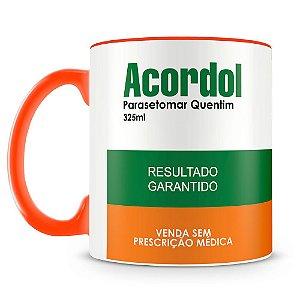 Caneca Personalizada Remédio Acordol