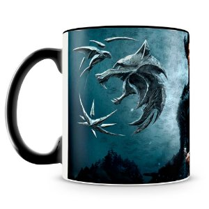 Caneca Personalizada The Witcher