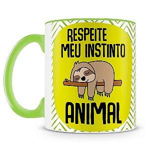Caneca Personalizada Respeite Meu Instinto Animal