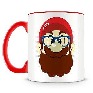 Caneca Personalizada Mario Hipster