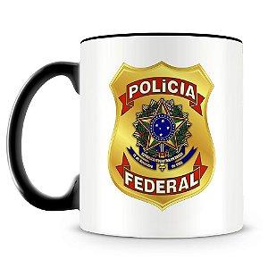 Caneca Personalizada Polícia Federal