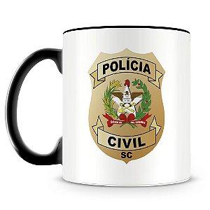 Caneca Personalizada Polícia Civil de Santa Catarina