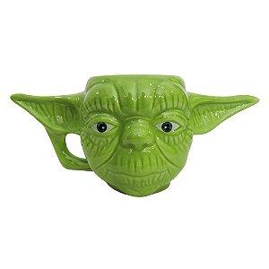 Caneca Formato 3D Mestre Yoda Star Wars
