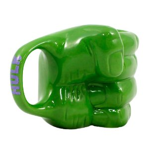 Caneca Formato 3D Mão Hulk