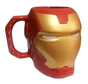 Caneca Formato 3D Homem de Ferro