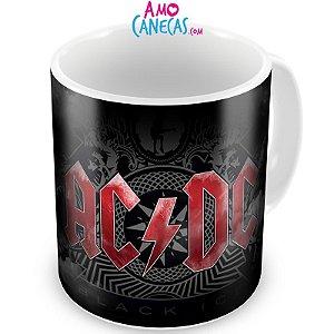 Caneca Personalizada Banda AC/DC Black Ice