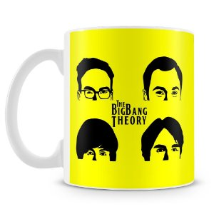 Caneca Personalizada The Big Bang Theory (Mod.1)