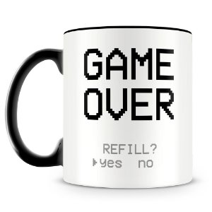 Caneca Personalizada Game Over